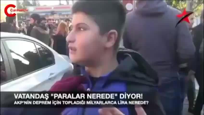 13 yaşındaki çocuktan iktidara, binlerce beğeni alan deprem sorusu