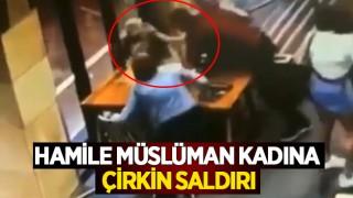 Hamile Müslüman Kadına Çirkin Saldırı